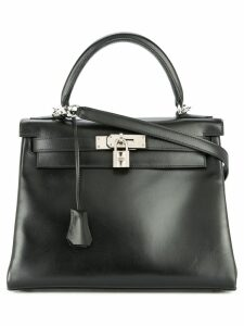 Hermès Pre-Owned Hermès Kelly 28 2way bag - Black
