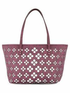 Fendi Pre-Owned logos hand bag - Pink