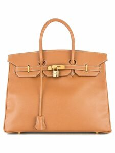 Hermès Pre-Owned Hermès Birkin 35 bag - Brown