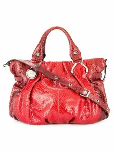 Céline Pre-Owned logos 2way hand bag - Red
