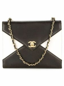 Chanel Pre-Owned V flap shoulder bag - Brown