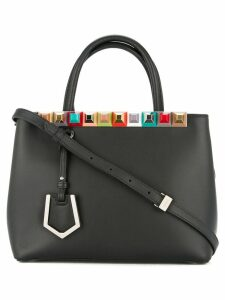 Fendi Pre-Owned Fendi Petite 2Jours rainbow studs 2way hand bag -