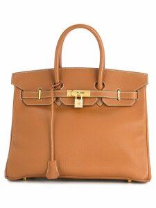 Hermès Pre-Owned Birkin 35 hand bag - Brown