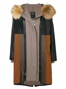 Jean Paul Gaultier Pre-Owned 1990's JPG coat - Black