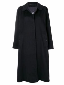 Burberry Pre-Owned cashmere 1990's loose coat - Black
