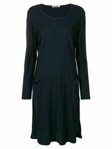 Jil Sander Pre-Owned 1990'S sweater dress - Blue