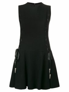 A.N.G.E.L.O. Vintage Cult 1960's lace-up detailing dress - Black