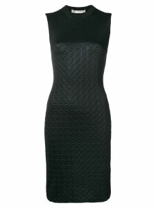 Comme Des Garçons Pre-Owned 1998 sleeveless embossed dress - Black