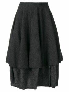 Comme Des Garçons Pre-Owned 1990's midi skirt - Grey