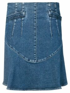 Chanel Pre-Owned 2006's A-line denim skirt - Blue