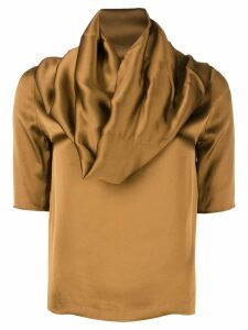 Maison Martin Margiela Pre-Owned Cooper top - Brown