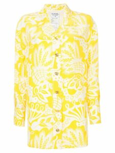Chanel Pre-Owned floral shirt - Yellow