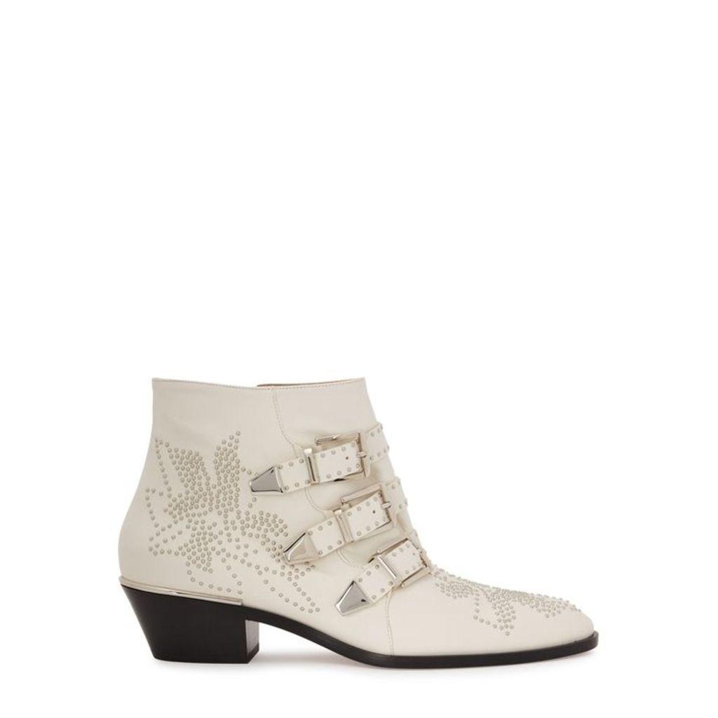 Chloé Susannah 50 Studded Leather Ankle Boots