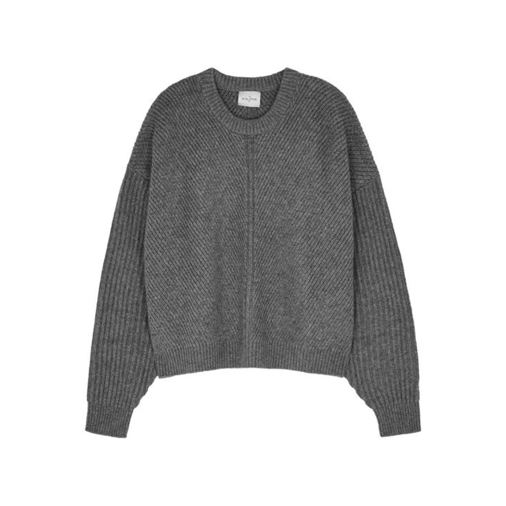 Le Kasha Puglia Grey Cashmere Jumper