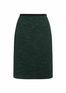Felicia Skirt Green Navy 14