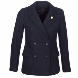 Maison Scotch  HYPEQ  women's Coat in Black