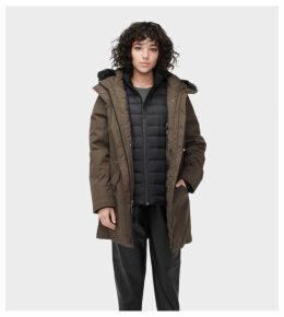 UGG Adirondack Parka Womens Outerwear Dark Olive XL