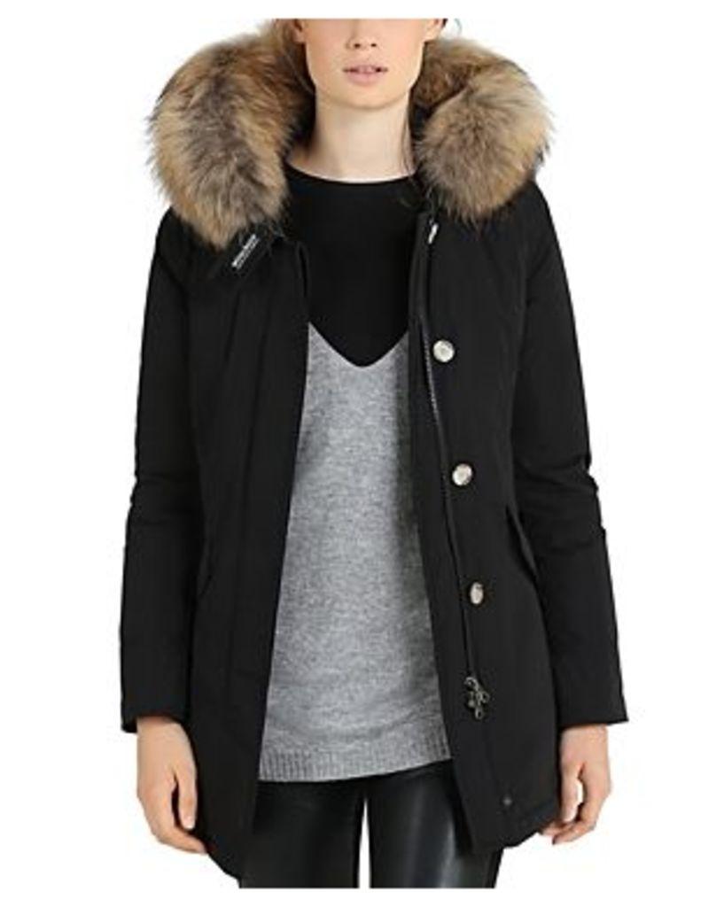 Woolrich John Rich & Bros Fur Trim Luxury Arctic Parka
