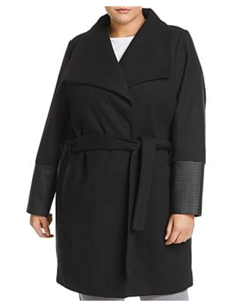 Junarose Plus Calla Wrap Coat