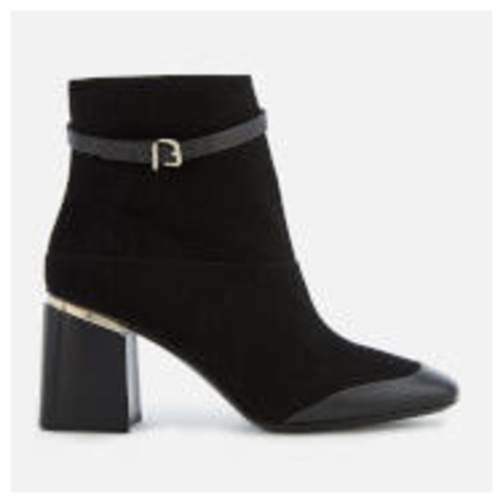 Tod's Women's Block Heeled Ankle Boots - Black