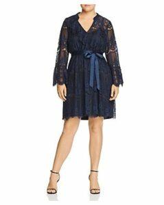 Estelle Plus River Rain Lace Dress