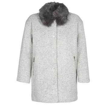 Le Temps des Cerises  DUCHESSE  women's Coat in Grey