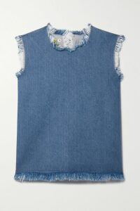 Fendi - Kan I Small Ostrich Shoulder Bag - Mint
