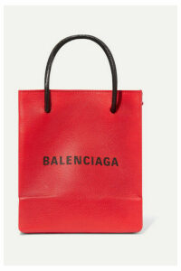 Balenciaga - Xxs Printed Textured-leather Tote - one size