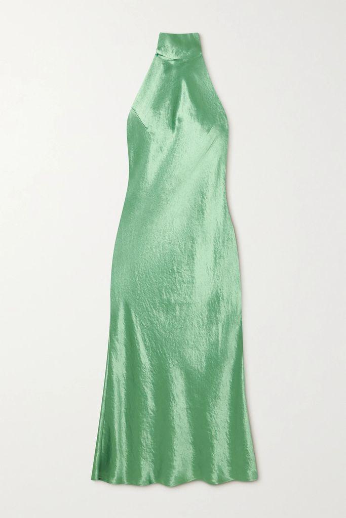 SAINT LAURENT - Catherine Croc-effect Leather Shoulder Bag - Merlot