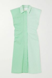 Tibi - Ruched Canvas Blazer - Sand