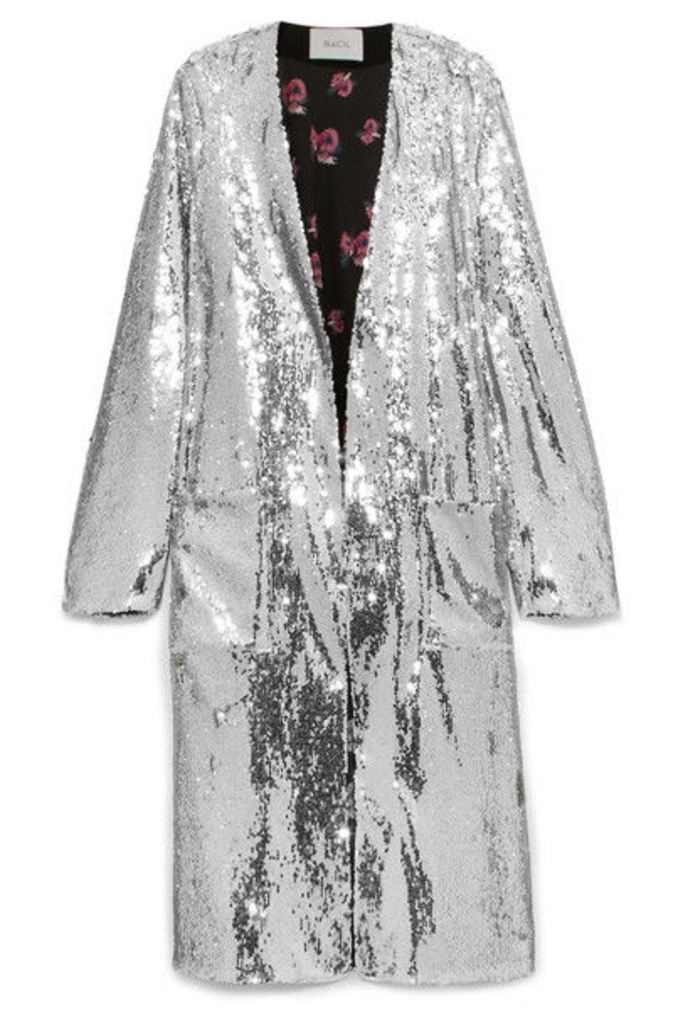 Racil - Vivien Sequined Jacket - Silver
