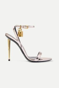 16ARLINGTON - Cropped Pinstriped Twill Blazer - Black