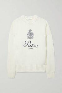By Malene Birger - Auberon Satin-trimmed Crepe Blazer - Emerald