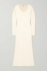 TOM FORD - Pinstriped Wool-twill Blazer - Black