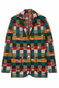 Missoni - Checked Wool Blazer - Red