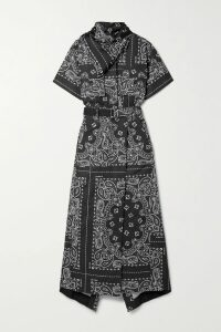 Prada - Gathered Neon Silk-satin Blouse - Chartreuse