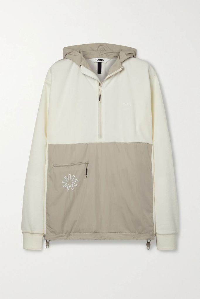 Balenciaga - Oversized Printed Denim Jacket - Blue