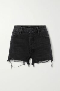ADEAM - Asymmetric Wool-blend Crepe Dress - Red