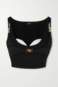 Y/PROJECT - Asymmetric Checked Wool Skirt - Dark brown