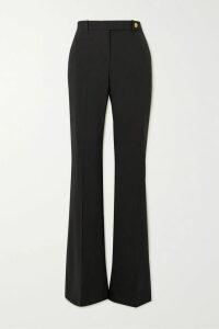 Marc Jacobs - Printed Silk Turtleneck Midi Dress - Black