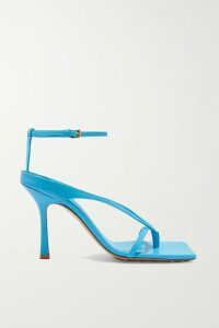 Akris - Draped Lace Coat - Cobalt blue