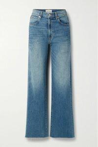 Alexander McQueen - Mesh-paneled Ribbed Stretch-knit Dress - Black
