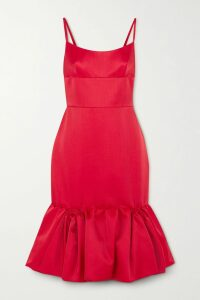 Erdem - Sacha Embellished Sequined Georgette Skirt - Silver