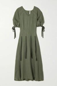 Gucci - Zip-detailed Printed Cotton-jersey Sweatshirt - Ivory