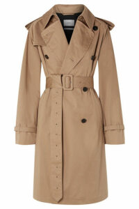 CASASOLA - Oversized Cotton-gabardine Trench Coat - Beige