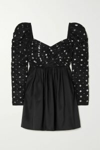 A.W.A.K.E. MODE - Belted Cotton-gabardine Trench Coat - Brown