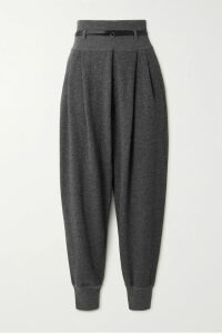 SEA - Madeline Canvas-trimmed Paneled Faux Fur And Faux Shearling Coat - Brown