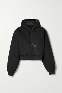 REDValentino - Lace-trimmed Velvet Mini Dress - Black