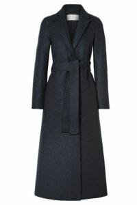 Harris Wharf London - Belted Wool Coat - Charcoal