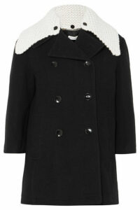 Altuzarra - Double-breasted Wool-blend Coat - Black